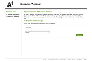 A1 Business Webmail